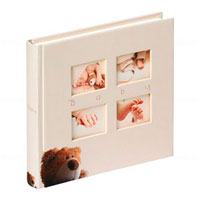 ФотоФотоальбом  Walther 28*30,5 Babyalbum Classic Bear  UK-273 60 pages