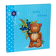 Альбом CHAKO 20 Sheet  9840 Teddy Blue (20 магн. листів)