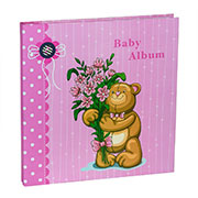 Альбом CHAKO 20 Sheet  9840 Teddy Pink (20 магн. листів)